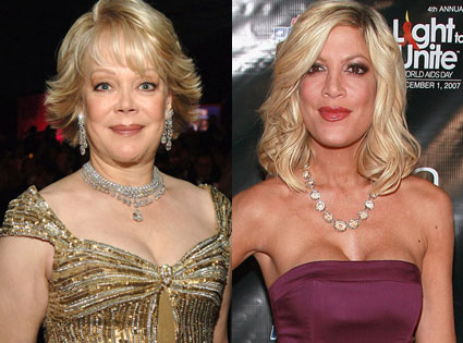 Candy Spelling Toxic to daughter Tori