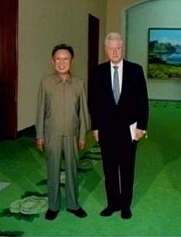 Clin ton KIm Il Jong