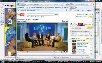 Kate tells of seeing Dr. Phil on the View