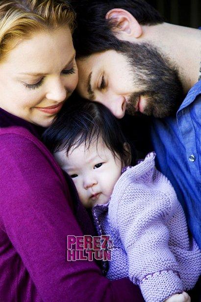 Heigl husband and baby