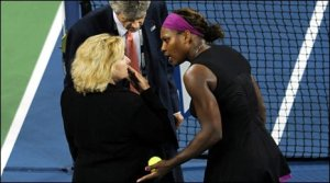 Serena Williams in shock at linewoman's accusation that Serena wanted to kill her
