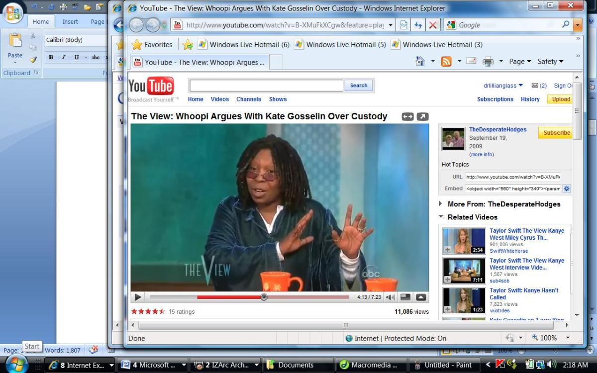 "Whoopi tells cake ""You can't do that"""