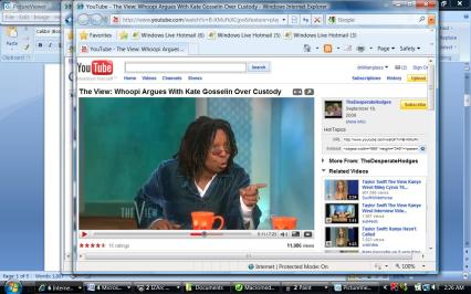 Whoopi is hopping mad as she points at Kate