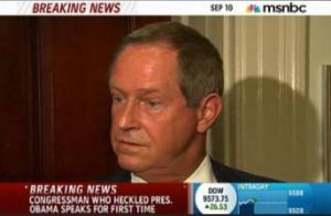 Rep. Joe Wilson's apology wasn't sincere.