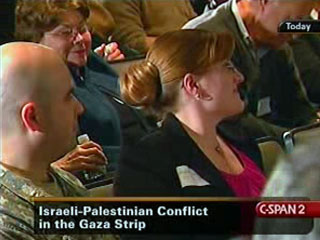 Hasan at Palestinian Israeli Conference