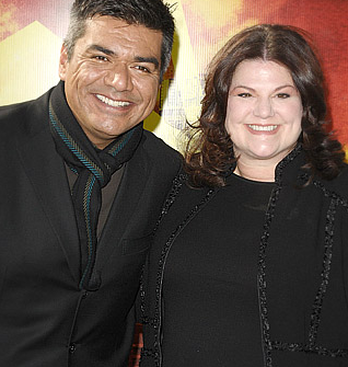 George Lopez Self Hate-Calls Kirstie Alley Fat Pig When He ...
