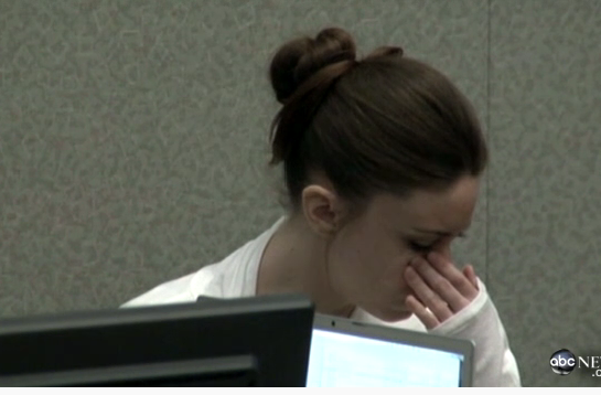 casey anthony pictures of skull. Casey Anthony did NOT cry.