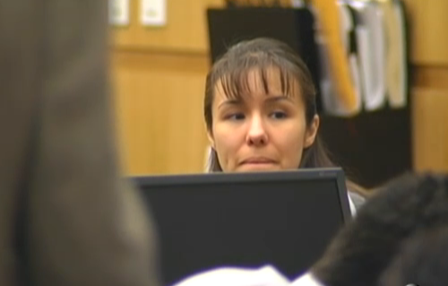 Jodi Arias Smiles, Flirts, and Kisses and Laughs In Recent Courtoom ...
