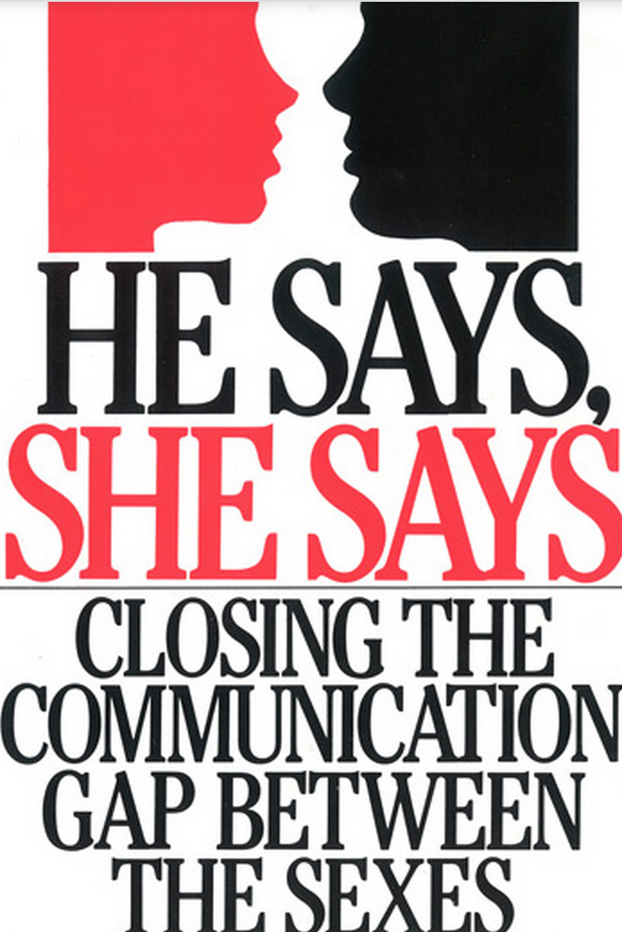 the communication gap between opposite sexes How to enhance communication between the sexes: the androgynous bridge part ii  in fact, they can appear more familiar to the opposite sex,.
